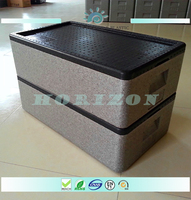 80L Outdoor rotomolded cooler box, 2015 new design whole foods epp rotomolded cooler bag box