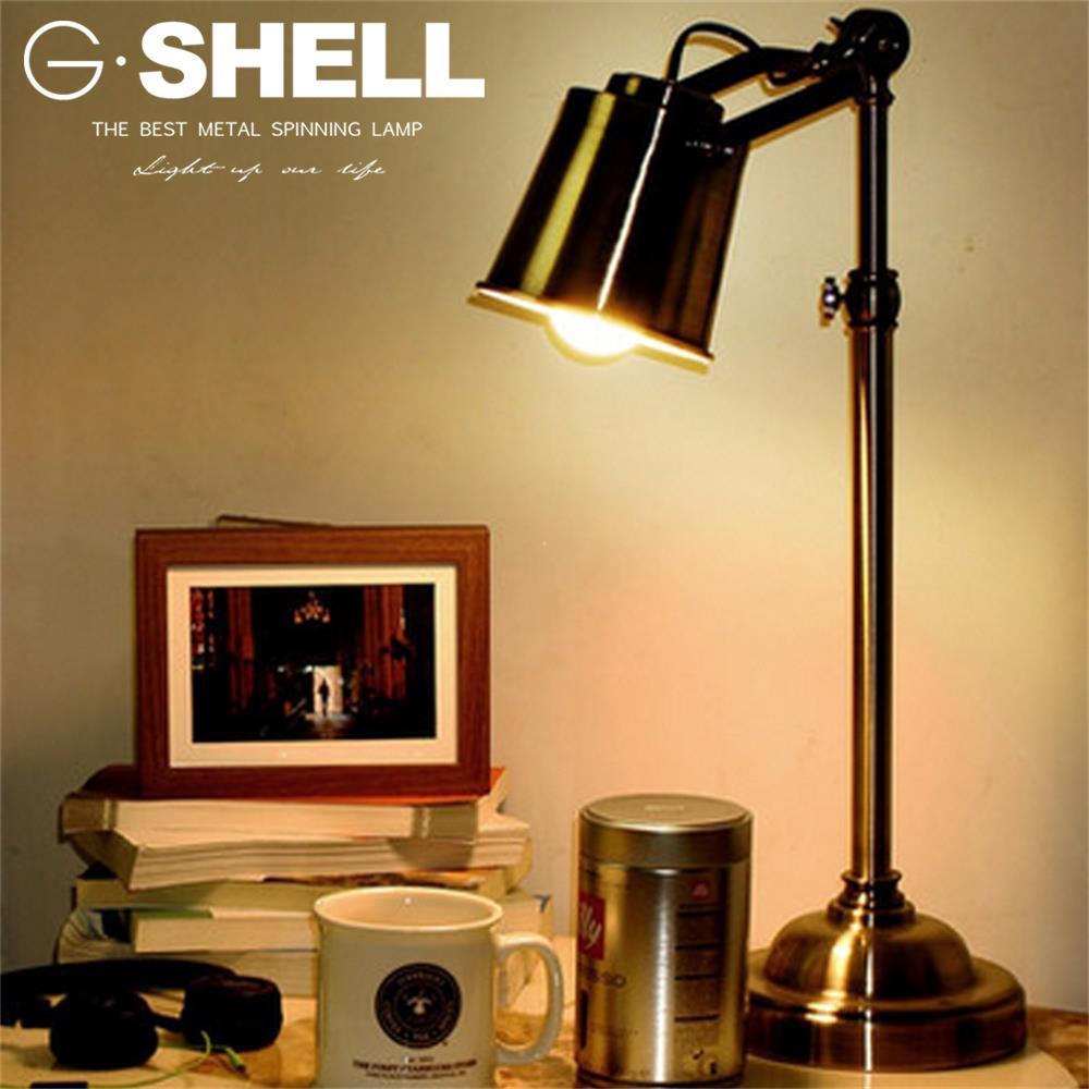 Shop A Antique Table Task Lamp Bronze