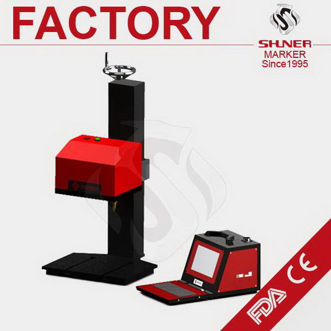 Modern made in p.r.c motorcycle pin marking machine