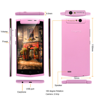 5.0 inch smart phone with rotatable camera