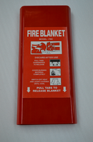 PVC Flat Packing Tube/ Fire Blanket Container