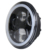 2017 Newest Hi/Lo beam Emark 7inch round 50w C-REE Auto led headlight with halo ring for J-eep wrangler jk motorcycles