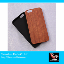 Made in China black walnut wood custom phone case for iphone case