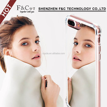 mirror case for iphone 7, for iphone 7 mirror phone case, mirror back bumper cover aluminum case for iPhone 7 plus