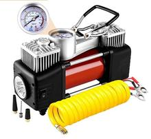 12v air compressor double cylinder portable car tyre inflator