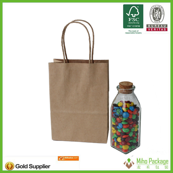logo printed paper bag,sterilization paper bags pouches,strong brown paper bags