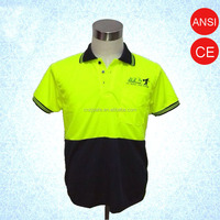 Suitable Material Reflective Safety T-shirt with Reflective Strips