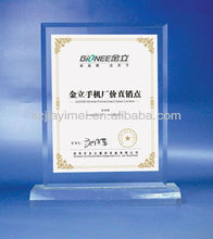 wholesale acrylic award with picture frame