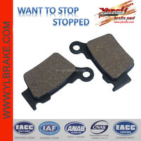 wholesale durable motorcycle brake system parts,moped scooter brake pads for HUSQVARNA-CR 125/ CR 250/ TC 250 / WR 125 Enduro