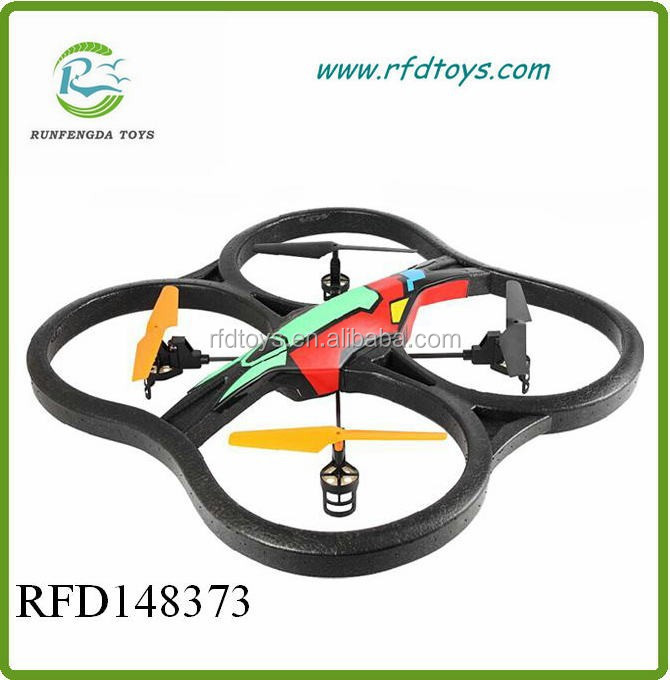 Universal new rc flying ufo 2.4G 4CH quadcopter rc model rc helicopter