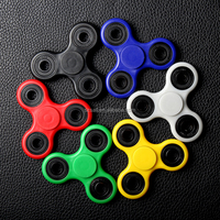 Sailing cheap abs trio plastic spinner fidget hand edc toy