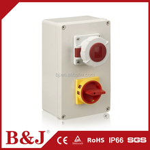 B&J Customize IP68 Waterproof ABS Plastic Enclosure Project Junction Box