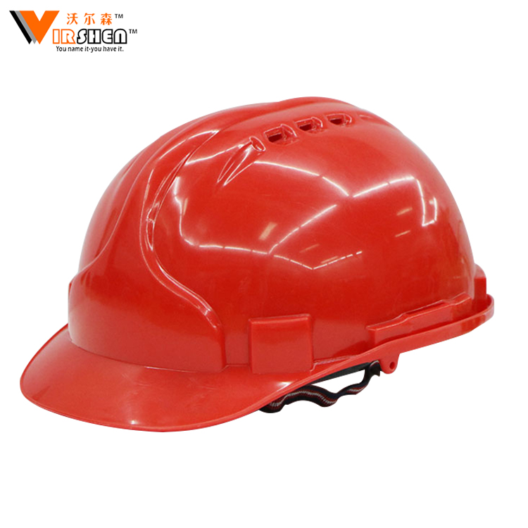 Low price heat resistance ABS engineering safety helmet harness construction hat
