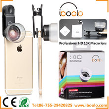 Attractive and durable 25mm macro lens 10X no deformation high sharpness with detachable clip