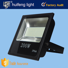 Square/building/statue/paking lot outdoor lighting fixture floodlight 200w flood light