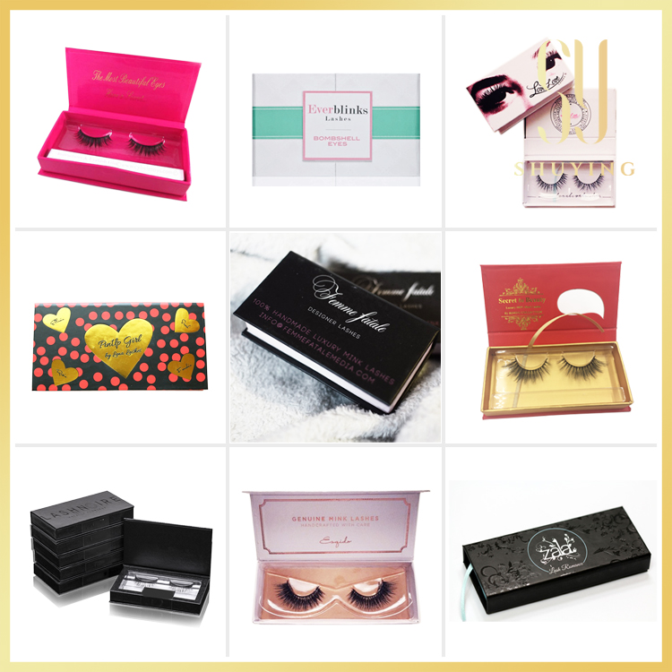 private label luxury eyelash case