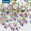 Wholesale 16 Cutting Facets Shinny Flatback Glass Strass Premium Non Hot Fix Rhinestones Nail Art for Rhinestone Bra