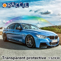 High Quality 1.52x30m Car Wrapping Vinyl Roll 3 Layers Paint Protection Film