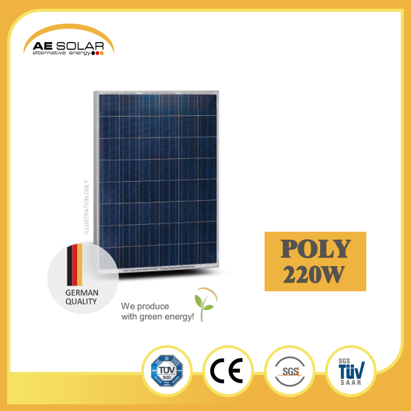 Direct Factory Sale AE P6-48 Series 220W Poly Solar Panel With Low Price