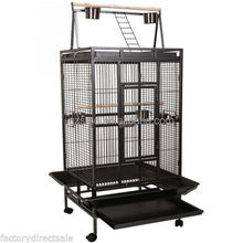33.4 KG Large African Parrot metal parrot cage for sale cheap