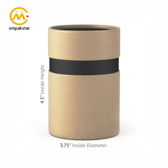 Factory wholesale customizable cardboard paper <strong>tube</strong> for small consumer electronics packaging