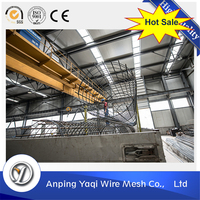 widely used strong anti corrosion 6*6 concrete reinforcing galvanized welded wire mesh for fence panel