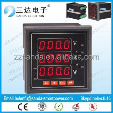 Digital Panel Meter Current Voltage Watt Meter Gague for Amperer Volt Watt