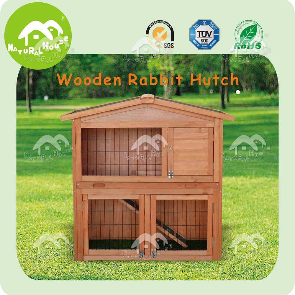 rabbit hutch with pull out tray,rabbit hutch sliding trays,handmade wooden rabbit hutch