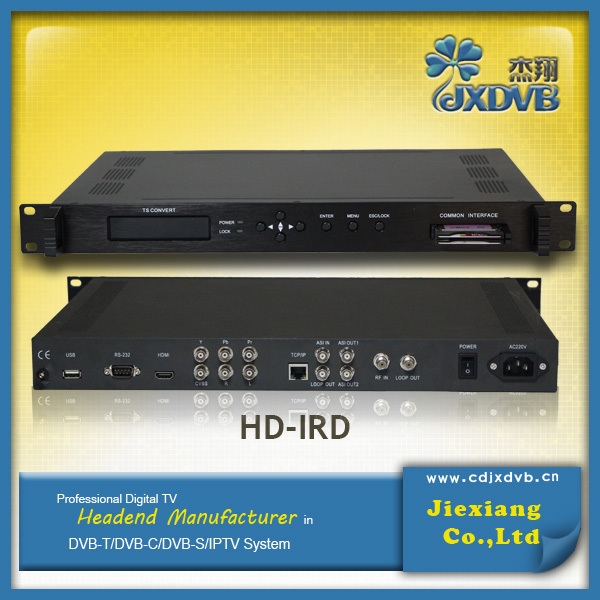 DVB-C/T/S/S2 HD Digital Cable TV Receiver Decoder