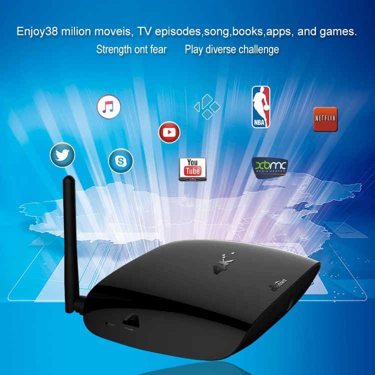 Factory price android tv box for Amlogic S912 Octa core 4k Android tv box