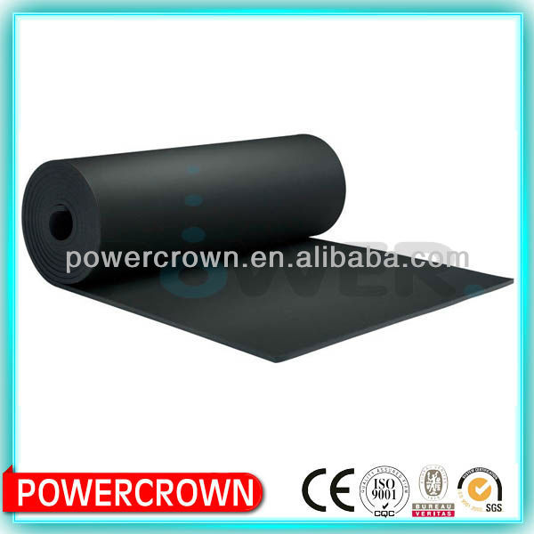 sound absorbing rubber material