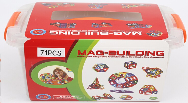 2016 Popular Toy Magformers DIY Toys Plastic Magnetic Building Blocks Toy Block