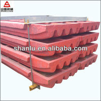 high manganese steel jaw plate price