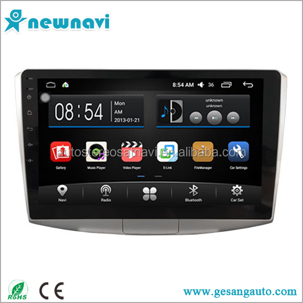 Newnavi 10.2 inch full touch screen car dvd Auto android 6.0 car gps navigation for VW Volkswagen PASSAT B7