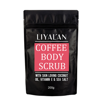Private Label Whitening and Exfoliating coffee Body Scrub