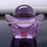 purple crystal vcoin models can bring in wealth and treasure for business gift