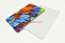 3D sublimation Matte Luminous Blank mobile phone cases for iPad Mini 4 cover