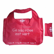 ECO-friend Carrefour Supermarket Foldable Polyester Shopping Bag