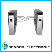 competitive price full automatic manual swing turnstile gate for supermarket