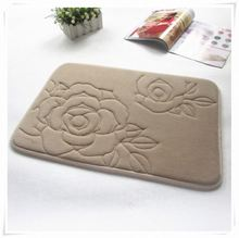 wholesale souvenirs Linsen memory foam bamboo pillow and mat/Memory foam bath mat_ Qinyi