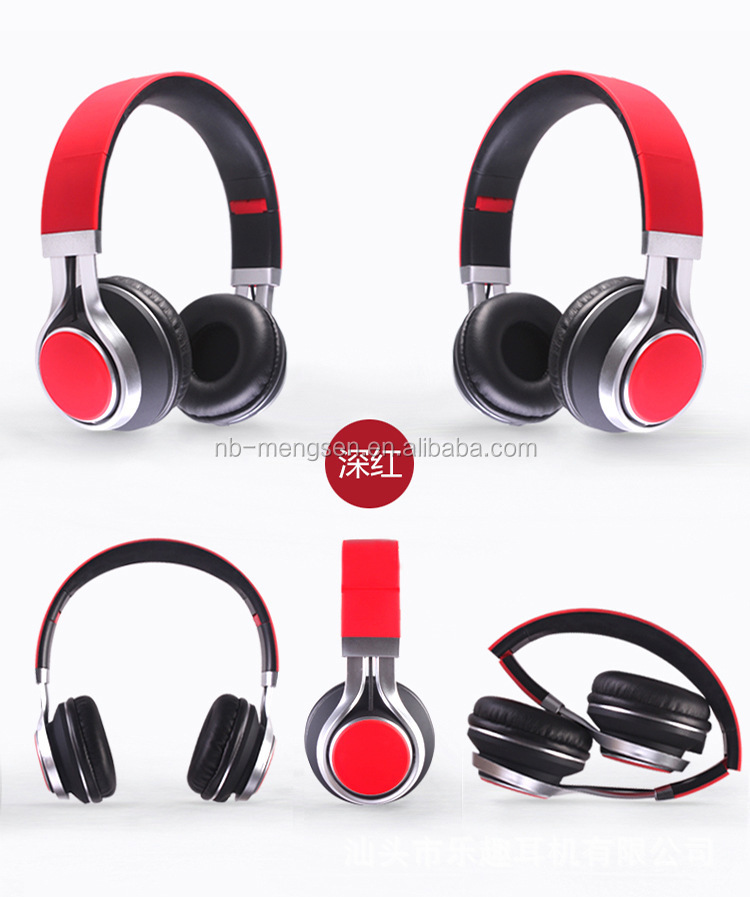 MP4 ,TV,I6 HOT HEADSET Factory supplier stereo headband noise cancelling cell phone headphone