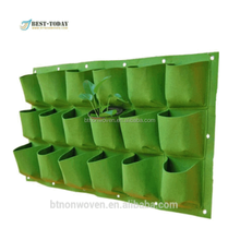 wall-mounted planter bag /Wall Hanging Planter Bag used in vertical green wall