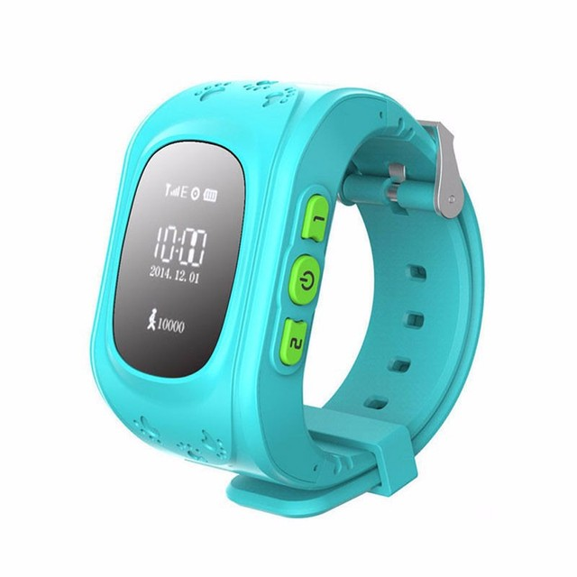 Wonlex GPS Tracker Watch Q 50 for Kids SOS Emergency Anti Lost GSM Smart Phone Setracker APP for Android iOS