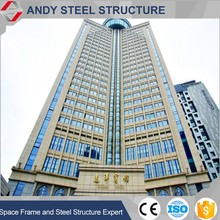 Prefabricated hotel wide span steel structure building