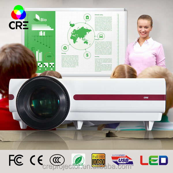 CRE X1500NX high quality HDMI*2 VGA AV USB power consumption of projector