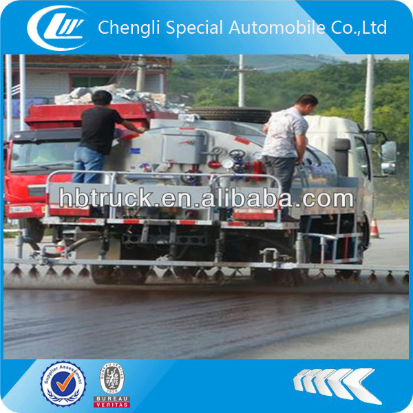 5m3 bitumen spraying truck