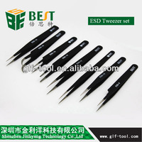 BEST-Fine Point Curved Tweezers for Moboile Phone Repairing Tools