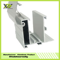 6063 anodized hollow aluminum profiles