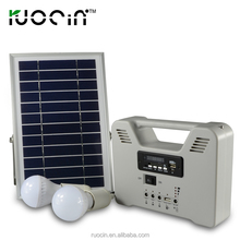 Solar Energy System For Home Use With Solar Lamp