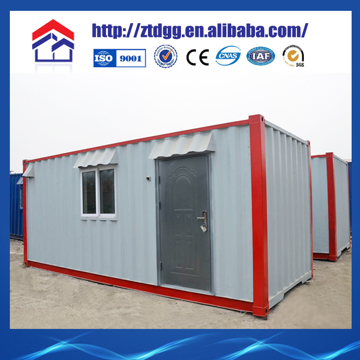 Heat and sound insulation static caravan
